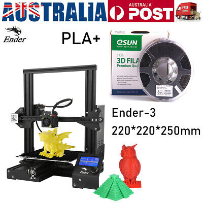 AU215.99 • Buy Creality 3D Ender 3 High Precision DIY 3D Printer Self-assemble 220*220*250mm AU