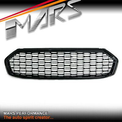 AU199.99 • Buy Gloss Black Front Bumper Bar Grille Grill For Ford EVEREST UA 2015-2018 Bodykit
