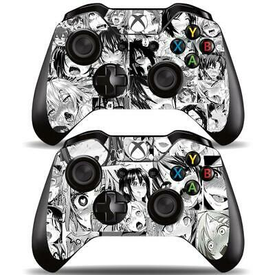 $9.99 • Buy Xbox One Controllers Remote Ahegao Funny Girls Anime Vinyl Skin Decals Stickers