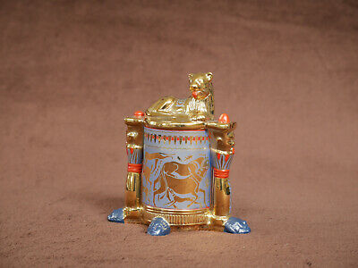 Franklin Mint The Treasures Of Tutankhamun Collection, Unguent Container • 10£