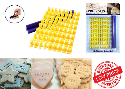 AU4.39 • Buy Alphabet Letter Number Fondant Cake Cookie Biscuit Cutter Mould Stamp Embosser