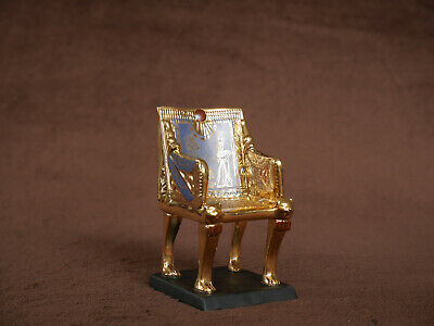 Franklin Mint The Treasures Of Tutankhamun Collection, The Golden Throne • 10£