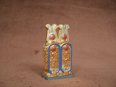 Franklin Mint The Treasures Of Tutankhamun Collection, Cartouche Shaped Box • 10£