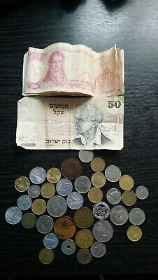 Old Selection Of Foreign Coins • 3£
