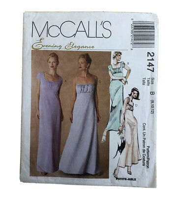 McCall's 2147 Ladies Dressmaking Pattern - Size: 8/10/12 - Used, See Description • 2.99£