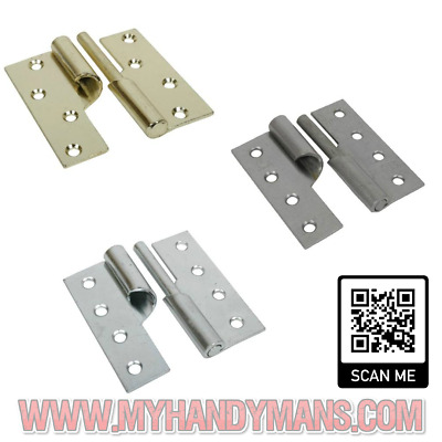 // 1pcs handed Stainless steel Lift off hinge 90 x 38 mm