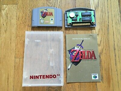 $62.49 • Buy The Legend Of Zelda: Ocarina Of Time Nintendo 64 N64 Authentic + Manual And Case