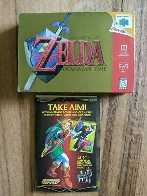 $35 • Buy Legend Of Zelda: Ocarina Of Time N64 Box Only W Insert Authentic