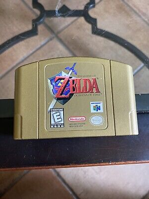 $99.99 • Buy N64 The Legend Of Zelda: Ocarina Of Time Gold Collector's Edition