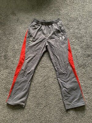 Wales Rugby Jogging Bottoms, Welsh Joggers, Under Armour, Medium, Wru Shirt • 2.99£