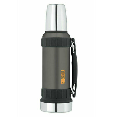 AU57 • Buy Thermos 1.2L Vacuum Insulated Stainless Steel Work Bottle Drink Flask Matte Grey
