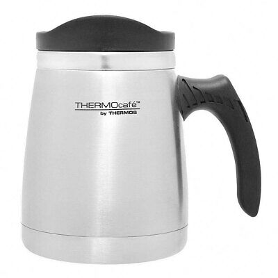AU19.95 • Buy Thermos 450ml Stainless Steel Double Wall Insulated Wide Base Mug Drinking Cup