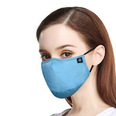 $ CDN14.99 • Buy Women High Quality Reusable Mask With Four Pm2.5 Filters