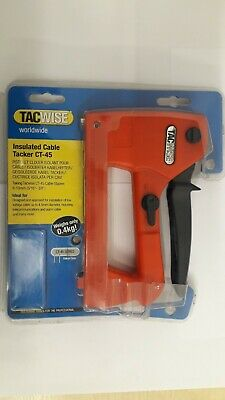 £29.95 • Buy Tacwise Insulated Cable Tacker CT-45  0320  Free Delivery
