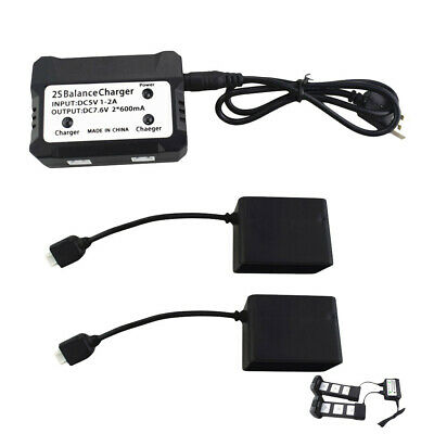 AU27.07 • Buy For MJX Bugs 4W B4W D88 EX3 HS550 GPS RC Drone 2in1 Charger Box With USB Cable
