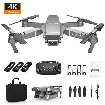 AU100.45 • Buy Drone X Pro 2.4G Selfie WIFI FPV With 4K HD Camera Foldable RC Quadcopter RTF