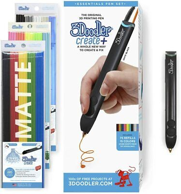 AU150 • Buy 3Doodler Create+ 3D Printing Pen For Teens, Adults & Creators! | Onyx Black