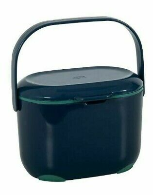 Food Waste Bin Mini Addis - 2.5 L Kitchen Compost Caddy Small Removable Lid • 13.99£