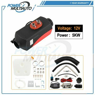 $ CDN258.31 • Buy Air Diesel Heater 5KW 12V LCD Switch Thermostat Tank For Truck Boat Trailer