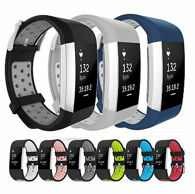$ CDN4.81 • Buy Replacement Silicone Sports Strap Wrist Band Bracelet For Fitbit Charge 2 / 2 HR