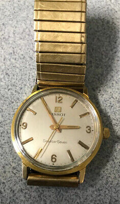 AU107 • Buy Beautiful Vintage 1964 Swiss TISSOT SEASTAR SEVEN Gents Watch