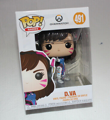 AU19 • Buy Overwatch D.VA Funko Games #491 Pop! Vinyl Figure New