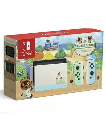 AU594 • Buy Nintendo Switch Animal Crossing: New Horizons Special Edition Console