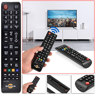Universal Remote Control For Assorted SAMSUNG TV 3D LED LCD PLASMA TV`S Monitors • 3.75£
