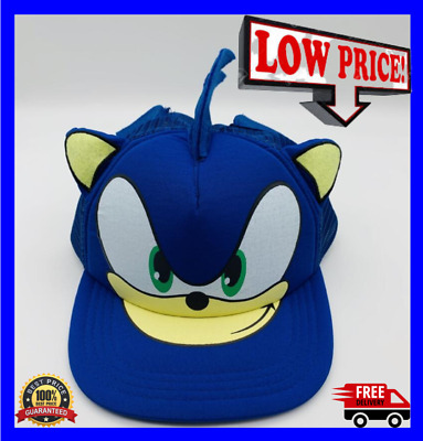 Super Sonic The Hedgehog Hat Cap For Youth Boys Kids Children Cosplay Cartoon • 7.31£