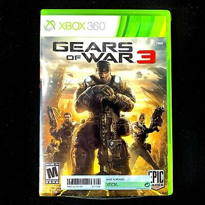 AU19 • Buy XBox 360 Game | Gears Of War 3 | NTSC-J | With Manual +more