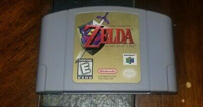 $45 • Buy Legend Of Zelda Ocarina Of Time (Nintendo 64, 1998) Cleaned Tested Authentic N64