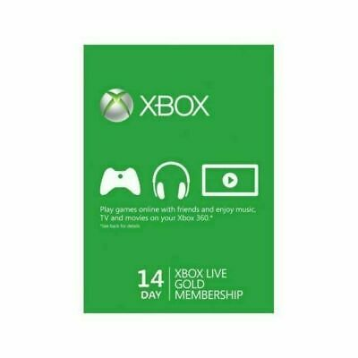 $9.50 • Buy Microsoft Xbox Live 14 Day Trial Code