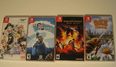 $49.99 • Buy Lot Of 4 Nintendo Switch Game Lot  DRAGONS DOGMA BEE SIMULATOR TALES VESPERIA +