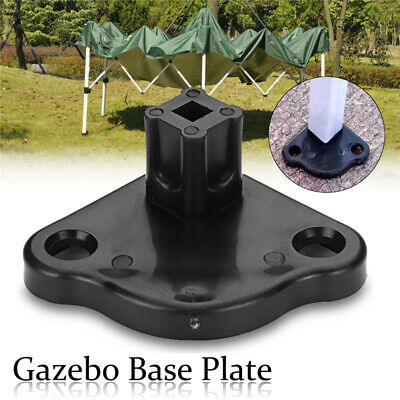 AU9.79 • Buy Tent Gazebo Replacement Base Plate Gazebo Foot Spare Part 25mm Inner Diameter