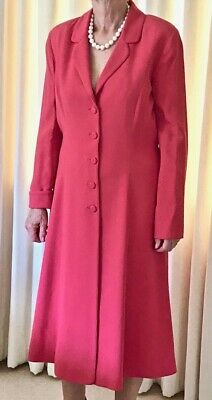 Caroline Charles Coat Dress Size 14 • 125£