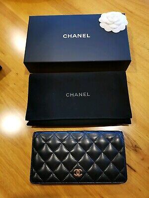 AU800 • Buy Authentic Classic Chanel Lambskin Long Flap Wallet