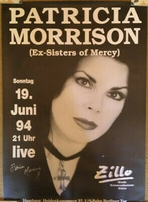 Patricia Morrison (ex-Sisters Of Mercy) Gig Poster  - Signed - Zillo Festival 94 • 20£