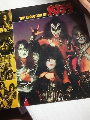 Kiss Alive Ii booklet 1978 Gene Simmons Paul Stanley Peter Criss Ace Frehley • 4.20£