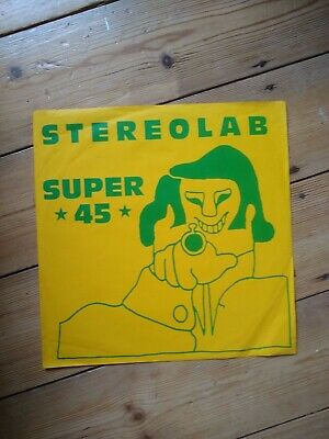 Stereolab First EP Super 45 Vinyl 10in 1991  • 30£
