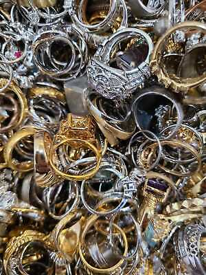 $ CDN63.58 • Buy Antiques, Vintage & Modern Design Rings Lot Wearable Resellable Lot