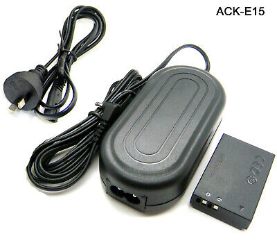 AU30.88 • Buy 7.4V AC Adapter Power Charger For ACK-E15 Canon EOS 100D Rebel SL1 Kiss X7 SX70