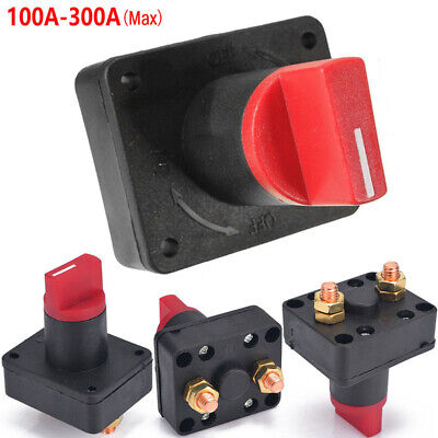 12v Battery Isolator Switch Cut Off Disconnect Terminal Universal Car Van Boat • 5.99£