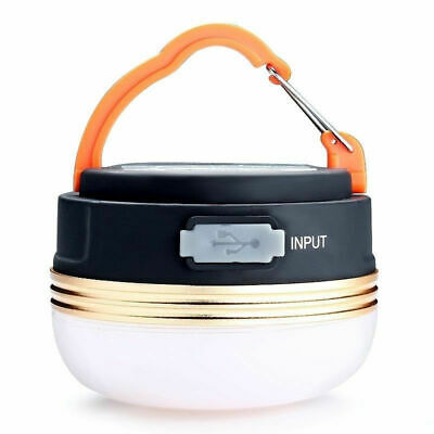 £8.59 • Buy LED Camping Light USB Rechargeable Lantern Night Light Portable Tent Lamp W/Hook