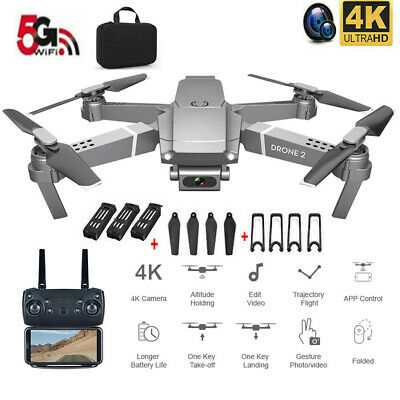 AU100.40 • Buy Drone X Pro 5G WIFI Drone With 4K HD Camera 5G RC Quadcopter Drones FPV Foldable
