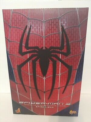$349.99 • Buy Hot Toys Mms 1/6th Scale Spider-man 3 12 Inch Figure * New Open Box *