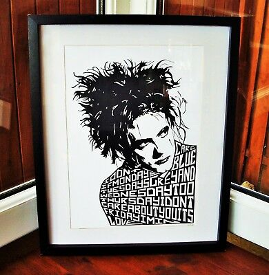 £14.40 • Buy The Cure/Robert Smith/Friday I'm In Love A3 Size Art Print/poster/picture