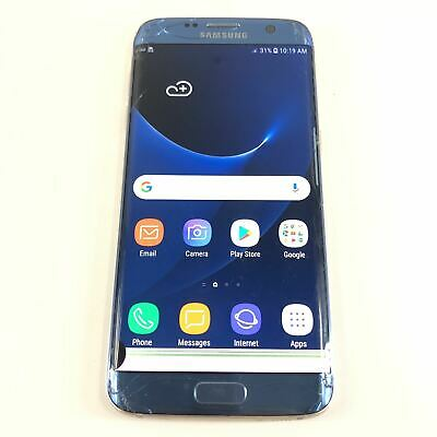 $ CDN93.66 • Buy Samsung Galaxy S7 Edge SM-G935P 32GB Locked To Sprint Smartphone Blue D1