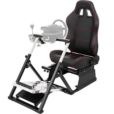 Racing Game Simulator Cockpit For Logitech G25 G27 Thrustmaster T500RS T300RS • 369.99£