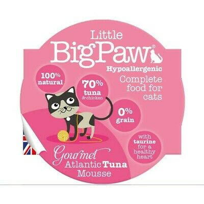 Little Big Paw Gourmet Cat Food | Cats • 10.48£