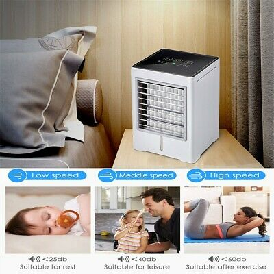 AU82.90 • Buy Portable Air Conditioner, Personal Air Cooler Fan, Humidifier, Purifier 3 In 1